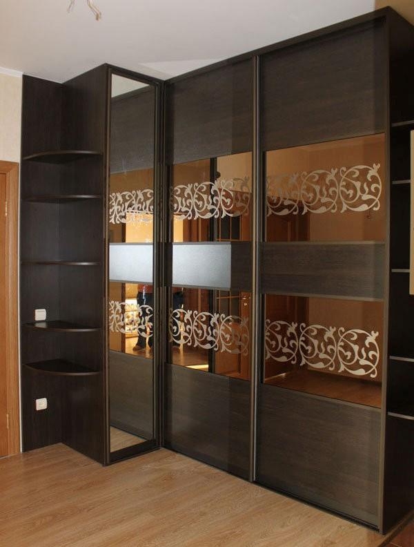 Модные двери шкафа