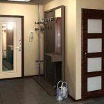 prihozhaya s zerkalom dver