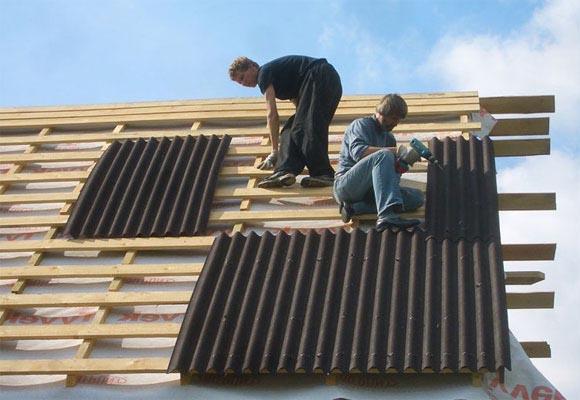 Покрываем крышу из ондулина своими руками