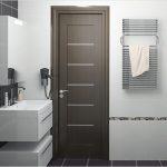 Какую дверь выбрать для ванной комнаты