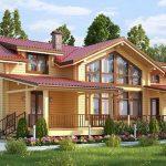 Древесина в строительстве домов и обустройстве помещений