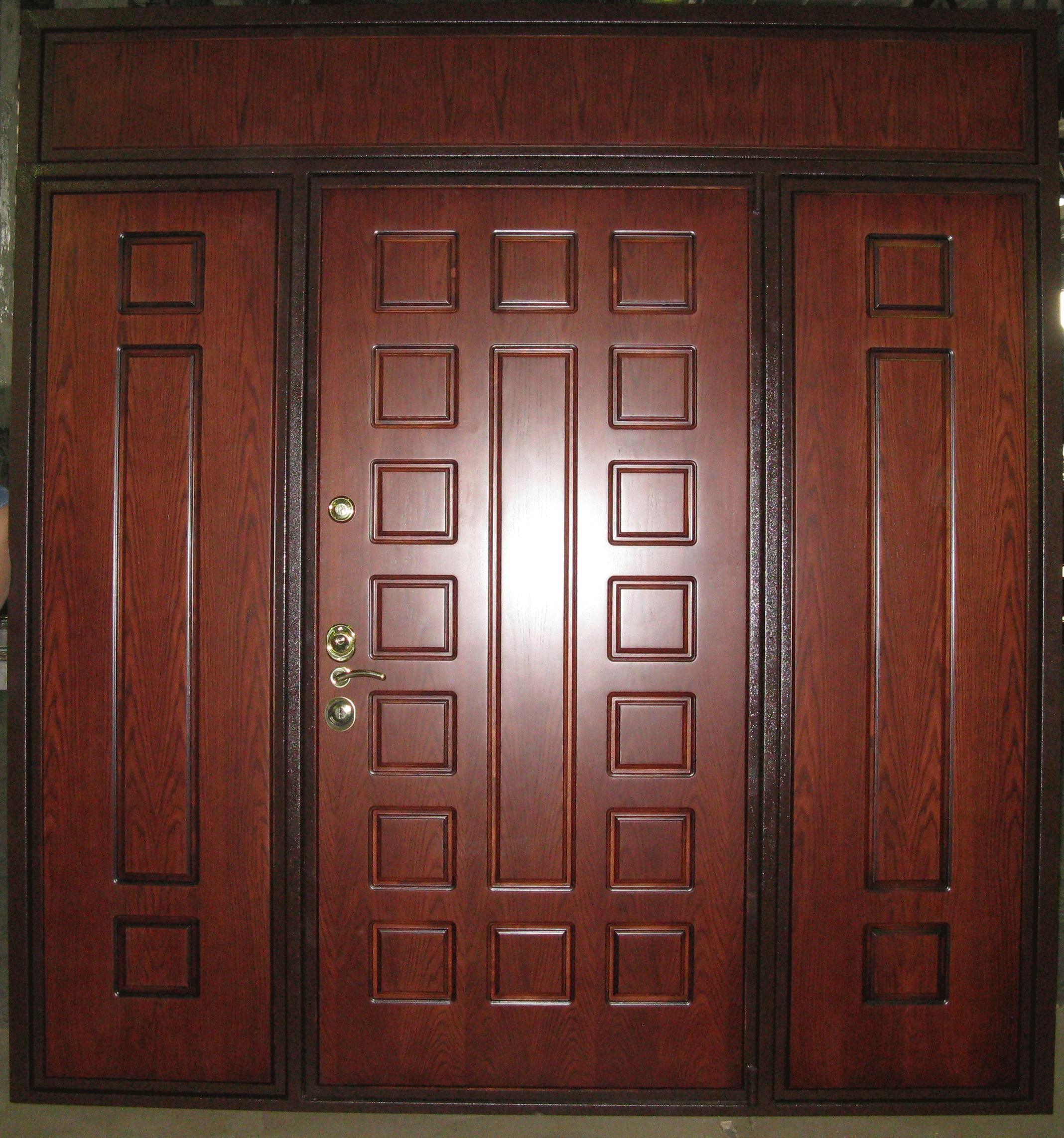 нестандартные стальные двери производство