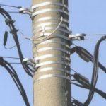 Монтаж СИП провода на столбах