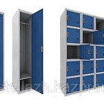 Металлические шкафчики для раздевалок